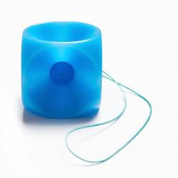 Pessaire cube non-perforé avec bouton