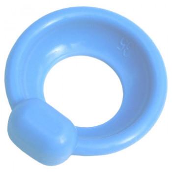 Pessaire urétral bol avec bouton